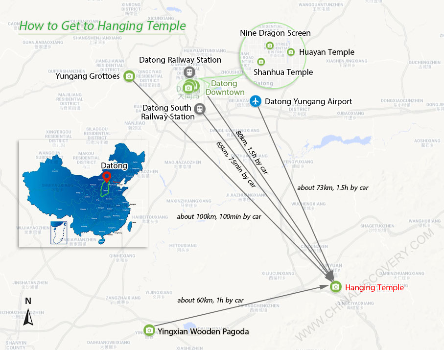 How to Get to Hanging Temple