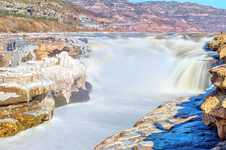 Magnificent Hukou Waterfall