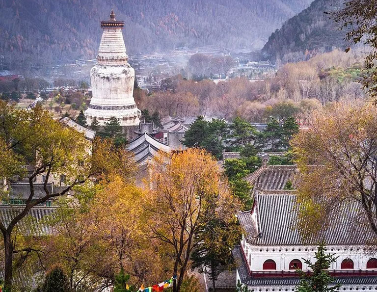 Great White Pagoda in Tayuan Temple