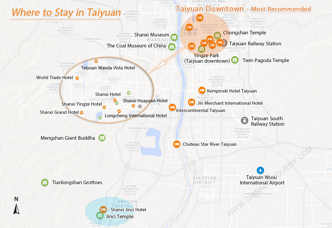 Where to Stay in Taiyuan