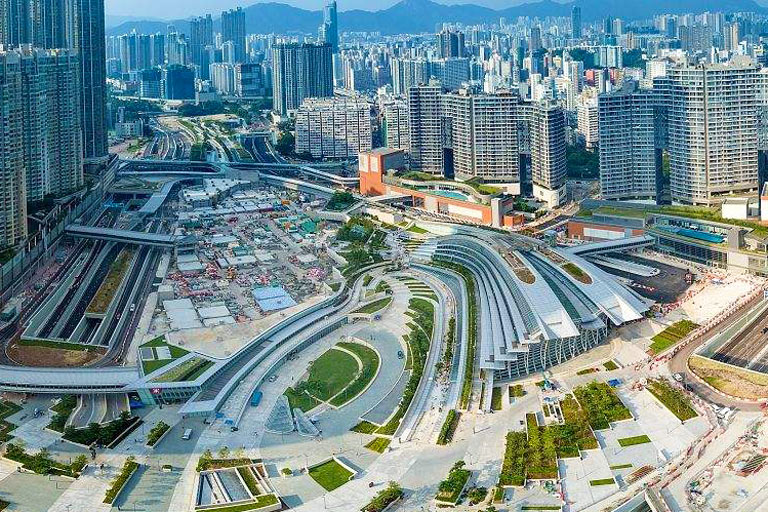Shenzhen Checkpoint - Hong Kong West Kowloon Terminus