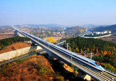 Beijing to Xian High Speed Train