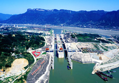 Three Gorges Dam Ship Locks