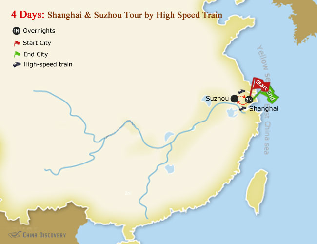 4 Days Shanghai & Suzhou Tour