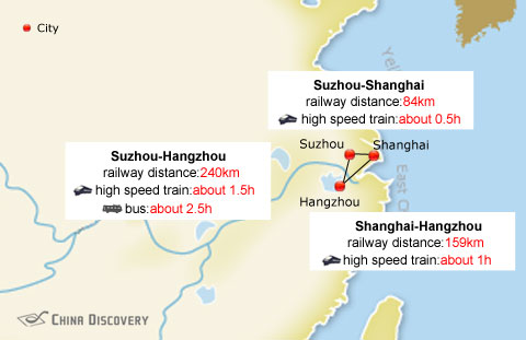 Xian To Shanghai Travel Distance By Train