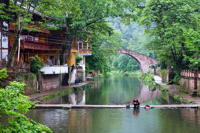 Chengdu and Sichuan Ancient Old Towns