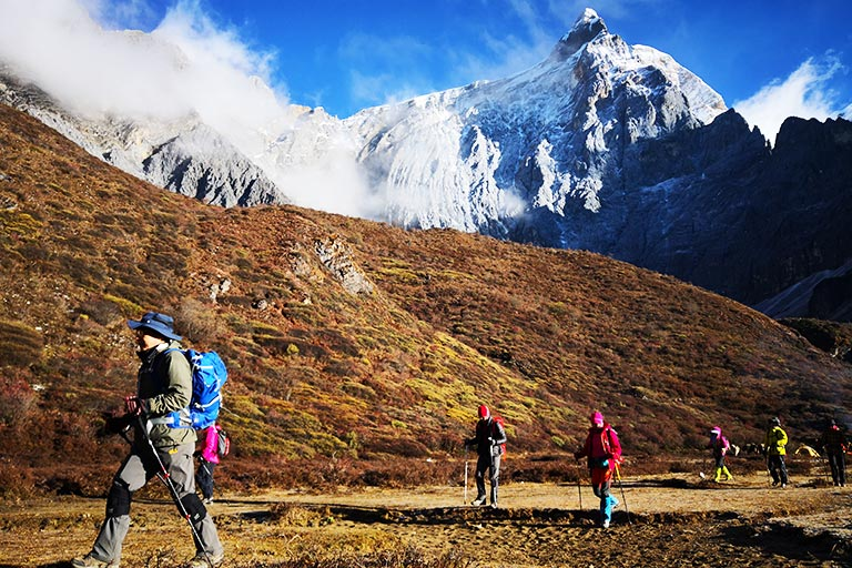 Yading Nature Reserve Hiking