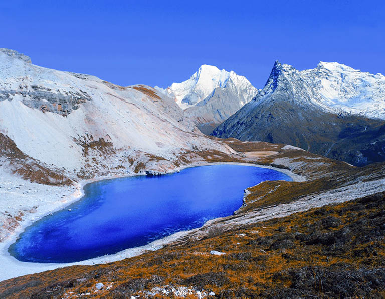 Yading Five Color Lake
