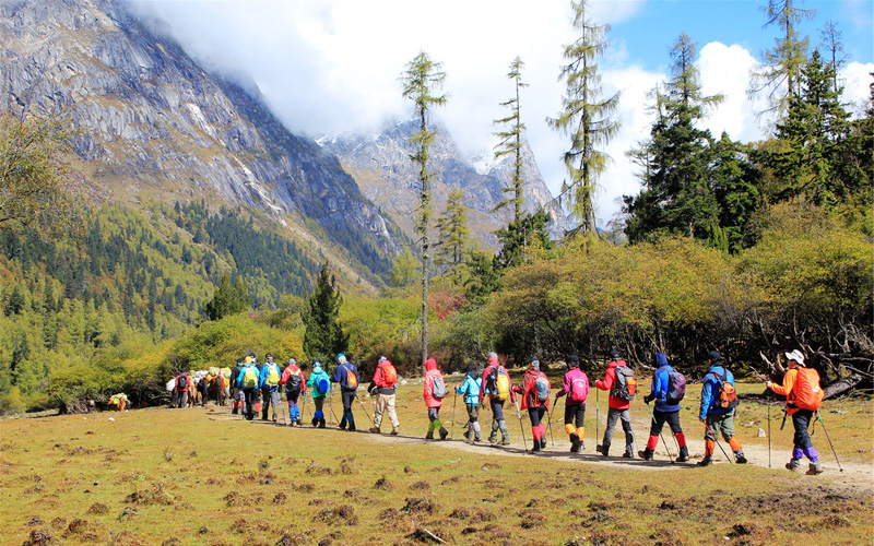 4 Days Sichuan Hiking