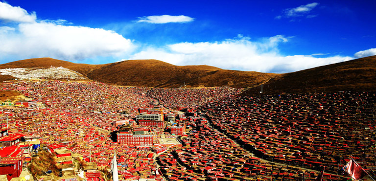 Larung Gar Buddhist Academy Sertar Sichuan Tour