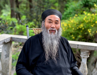 Mount Heming Smiling Taoist