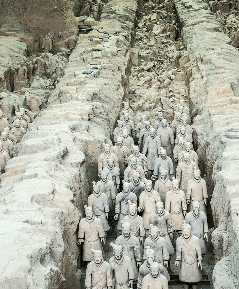 Starting point of China Silk Road – Xian