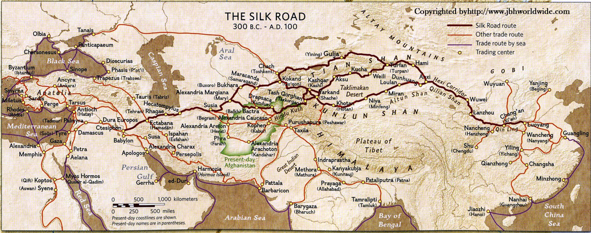the road of silk