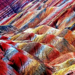 Historical city & spectacular landform - Zhangye