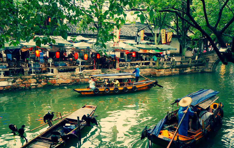 Tongli Suzhou Tongli Water Town Highlights Maps