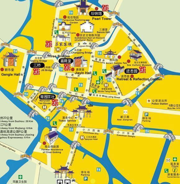 how to get to zhouzhuang water town from suzhou