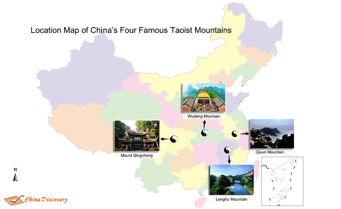 Top Four Taoist Mountains in China