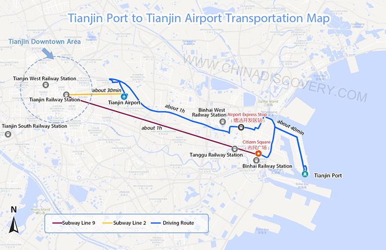 Tianjin Subway Map.Tianjin Map Tianjin China Map Tianjin Port Map