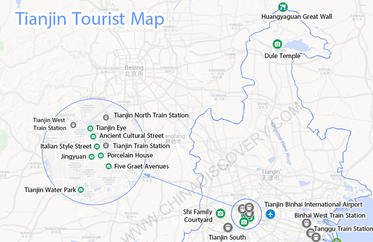 Map Of Italy Train Stations.Tianjin Map Tianjin China Map Tianjin Port Map