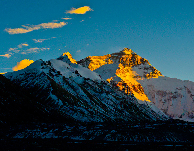 Mount Everest - Sunset