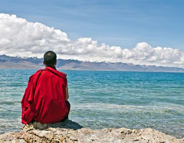 Namtso buddhist meditation