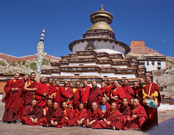 Palcho Monastery and Monks