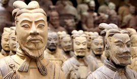 China attractions - Terracotta Warriors