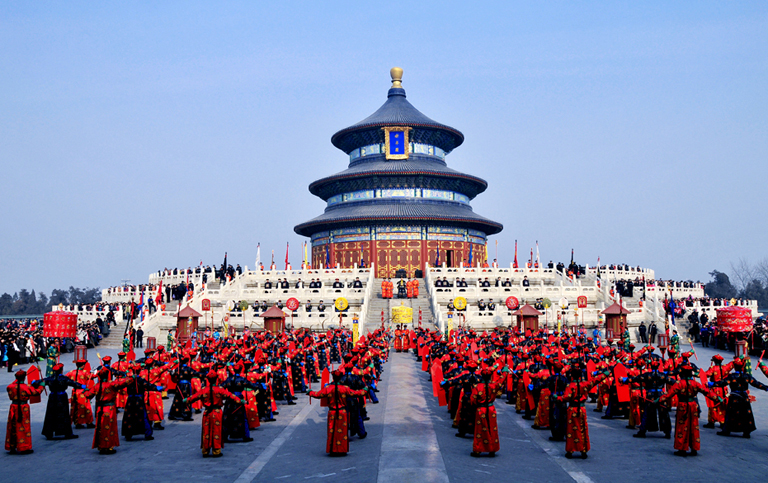 Sacrificial Ceremony in Temple of Heaven