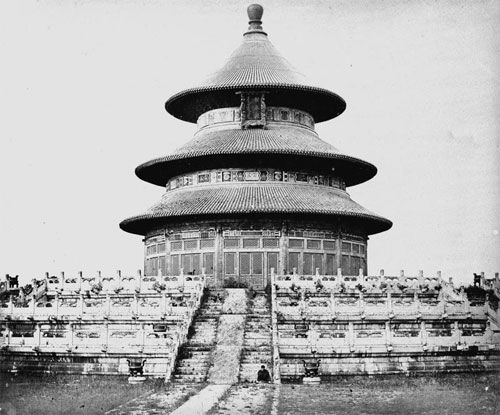 Temple of Heaven in Qing Dynasty