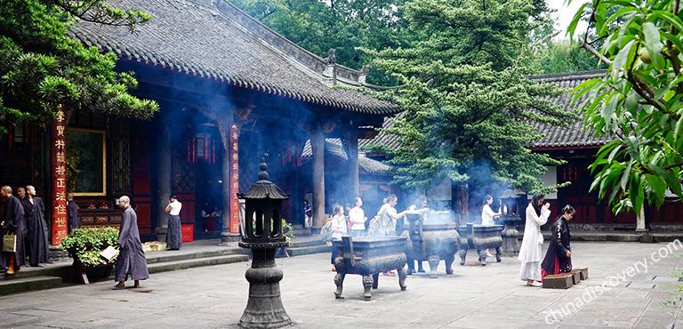 Chengdu Wenshu Monastery Wenshu Yuan Monastery