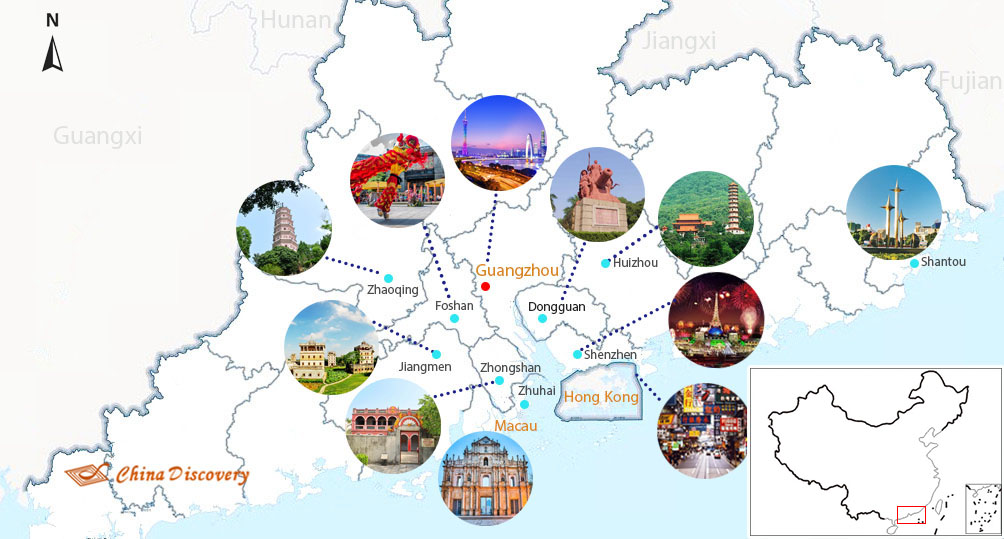 Pearl River Delta Guangdong 144 Hour (6 Day) Visa Free