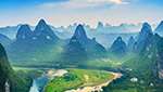 This tour takes you fully feel scenic beauty of Guilin, from city sightseeing, Li River to relaxing rurual Yangshuo.