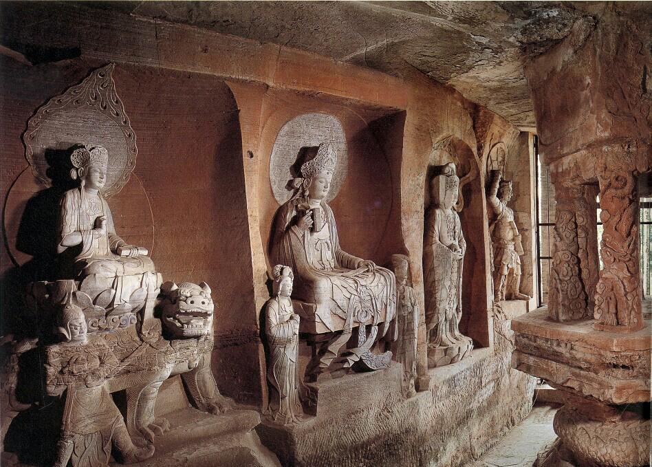 Dazu rock carvings chongqing caves