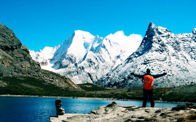Hiking in Daocheng Yading