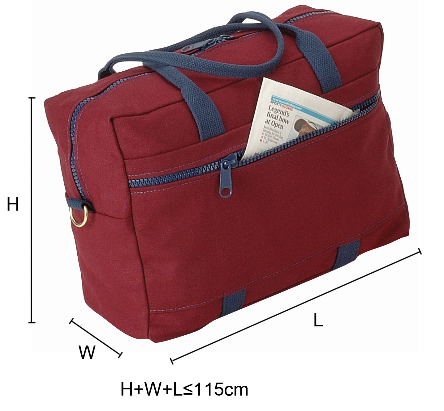 Maximum Size of Carry-on Baggage