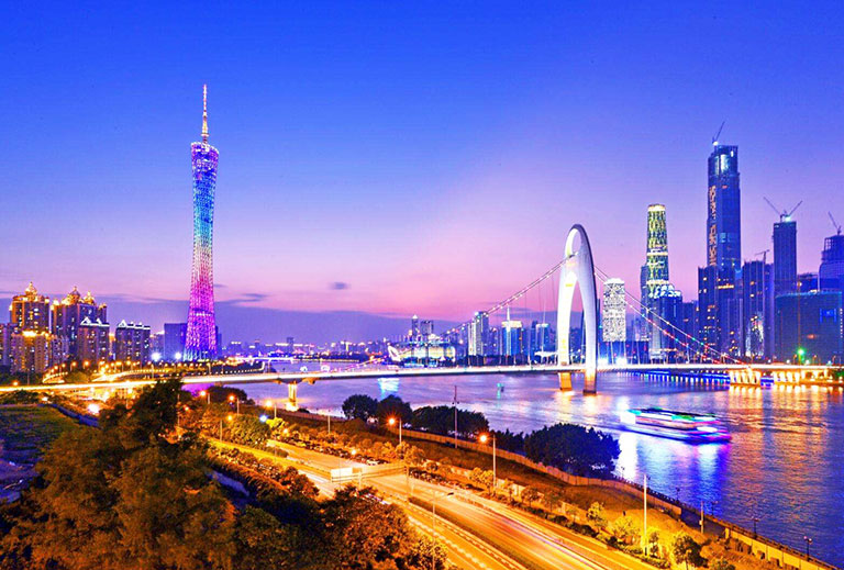 Canton Tower, the Landmark of Guangzhou