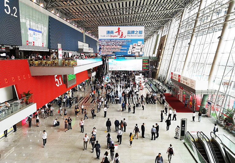 Trade Fair (Canton Fair) Lively Spot