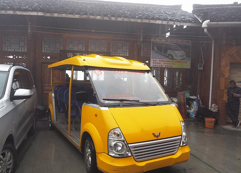 Longji Sightseeing Bus
