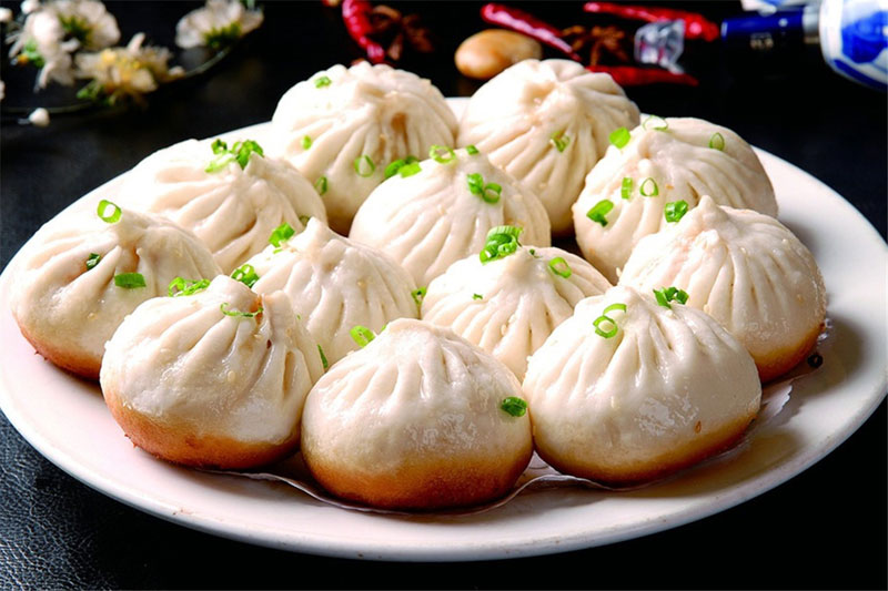 Hangzhou Streamed Bun (杭州小笼包)