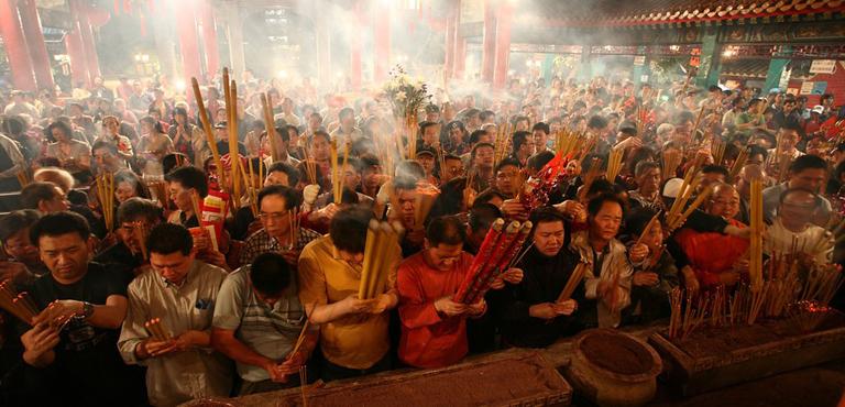 Wong Tai Sin Temple Hong Kong Attractions