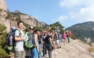 Hiking in Huangshan