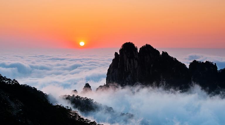 Yellow Mountain Mt Huangshan Tour Map Travel Tips