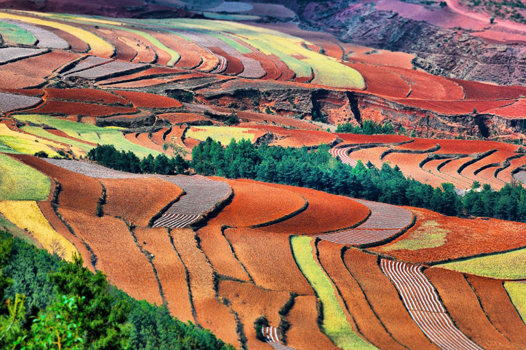 Kunming Dongchuan Red Land