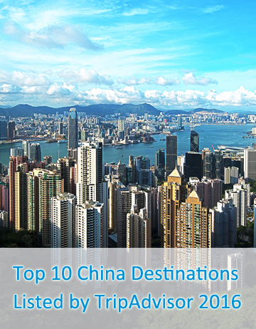 Top 10 China Destinations Listed by TripAdvisor