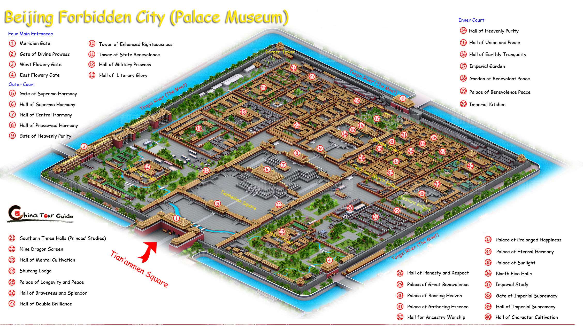 China Travel Map China Attractions and Tourist Map – China Tourist Attractions Map