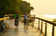 Qiandong Lake - Cycling
