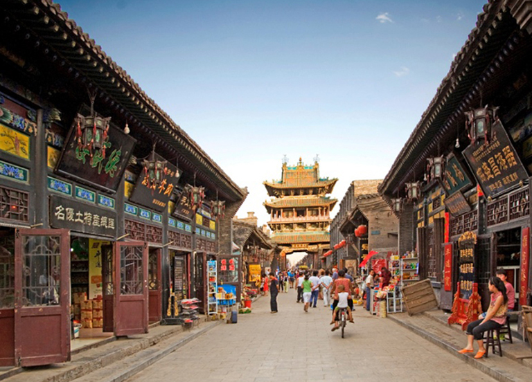 Ming & Qing Dynasties Street in Pingyao Ancient City