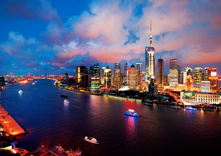 Night Cruise on Huangpu River