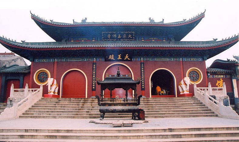 Jade Buddha Temple Shanghai - Hall of Heavenly Kings