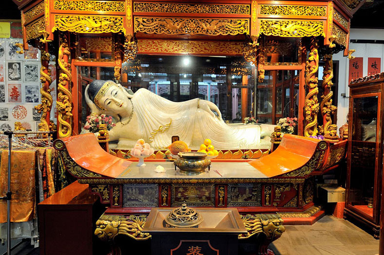 Jade Buddha Temple Shanghai  Sitting & Reclining Jade Buddha